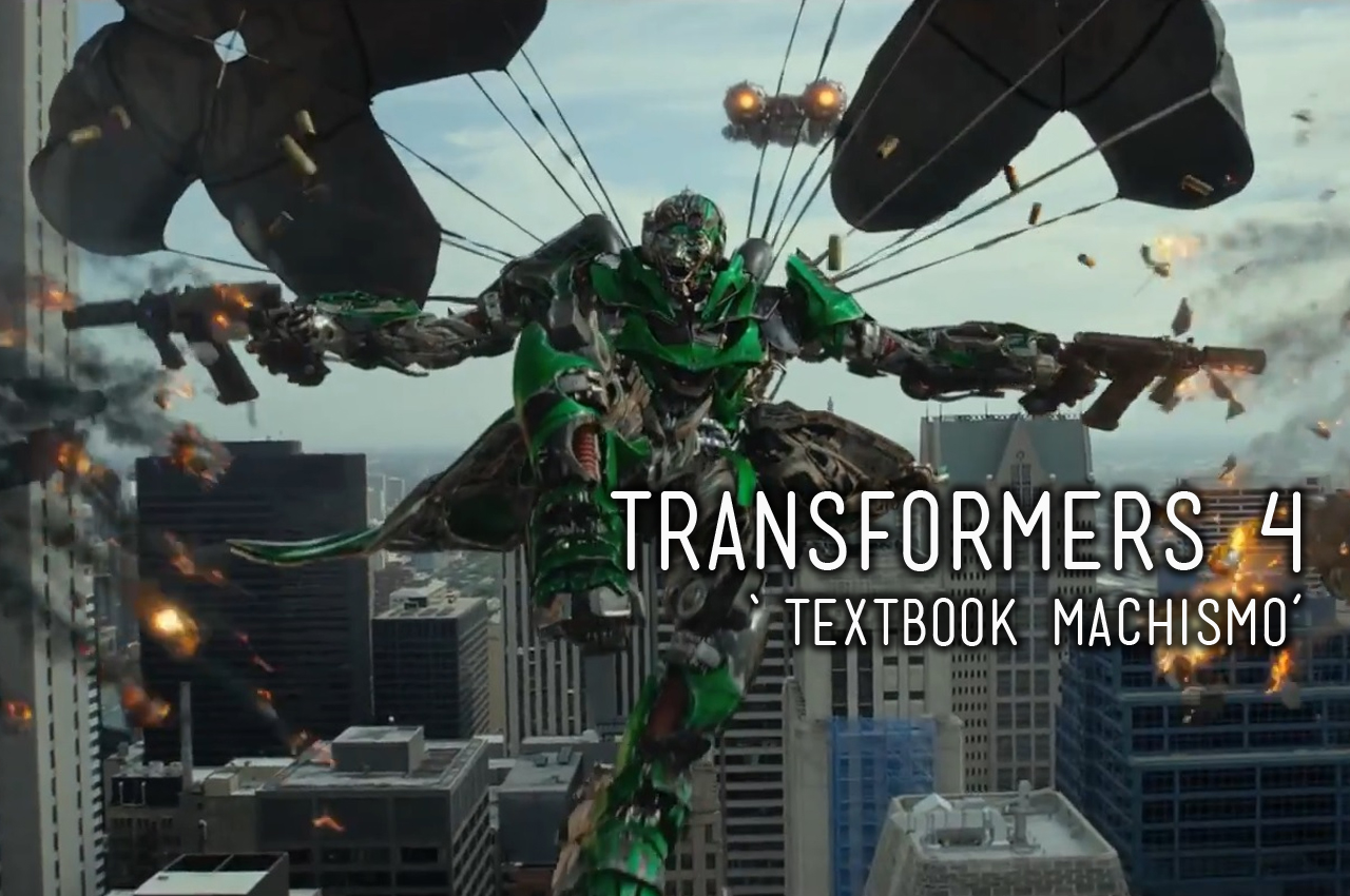 transformers: age of extinction - textbook machismo | dr. darren r